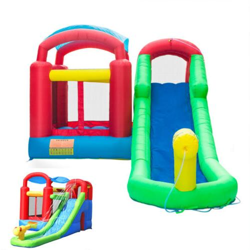 inflatable bounce house castle water slide pool