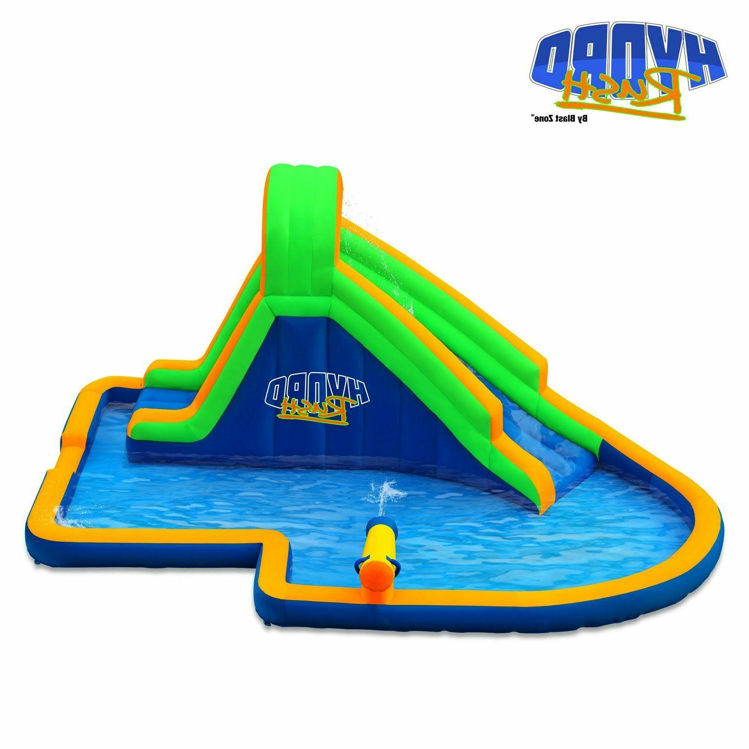Blast Zone Inflatable Bounce House: Hydro Rush Park