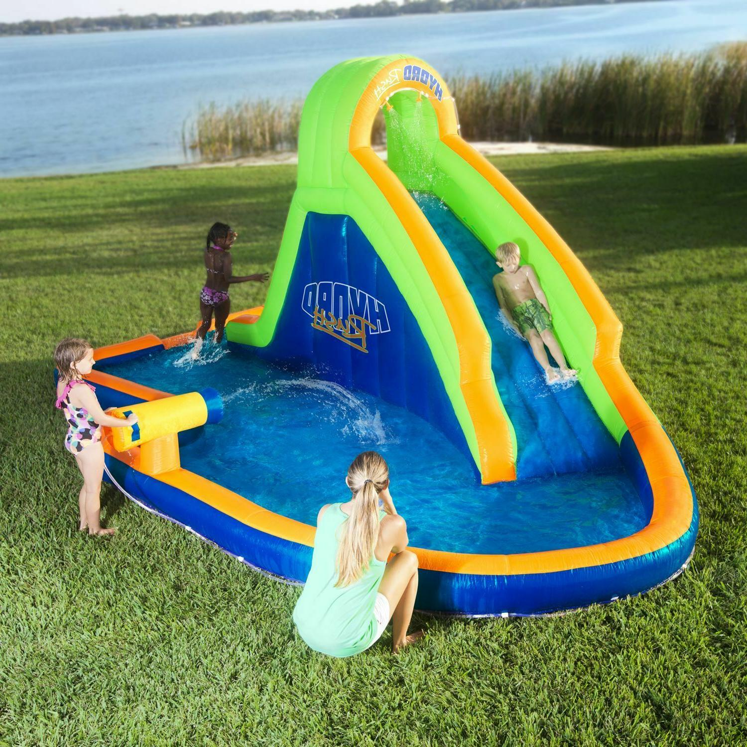 inflatable bounce house hydro rush water park