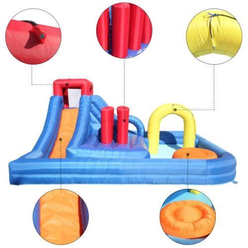 Inflatable Water Slide Bouncer River Area,Water And For Kids