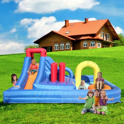 Inflatable Bouncer River And For Kids