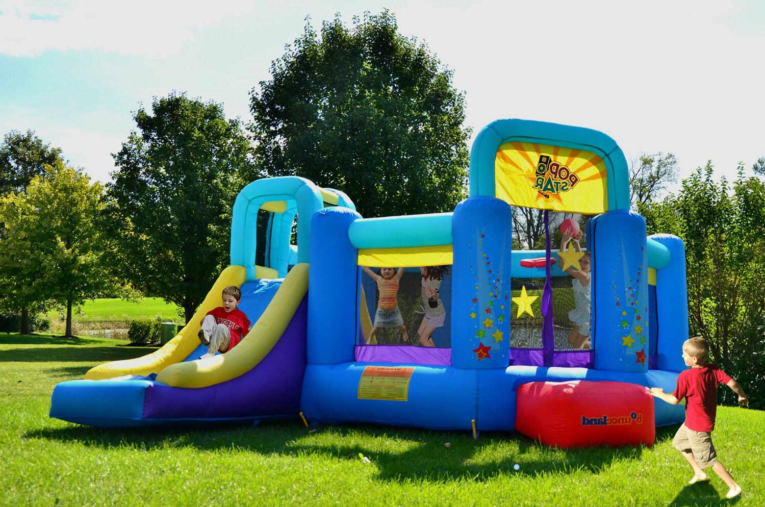 Bounceland Pop Bouncer slide