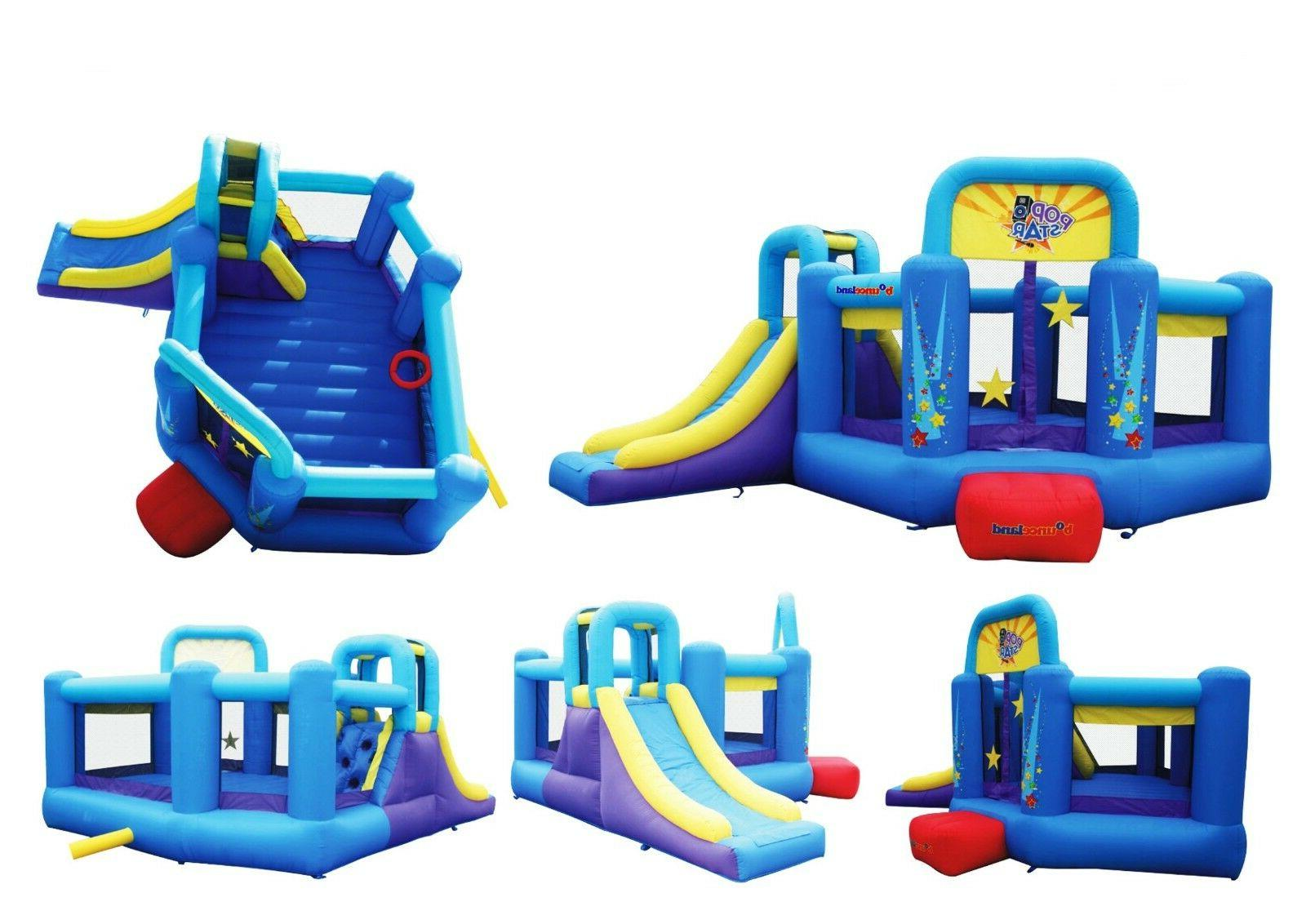 Bounceland Bounce Pop Star slide