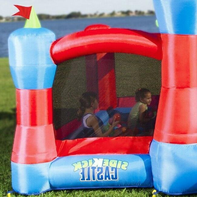 Blast Inflatable House: House, BallPit, Hoop