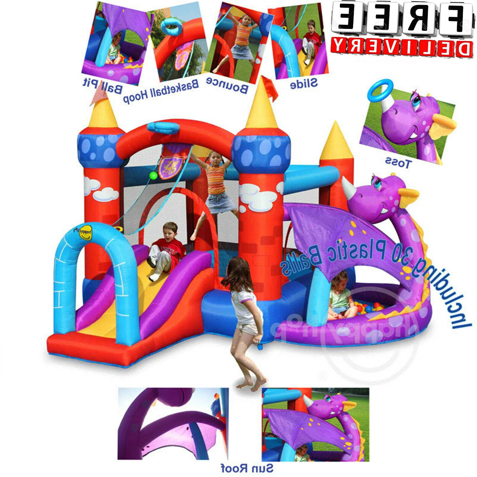 Inflatable Bounce House Slide Bouncer Blower Commercial Yard
