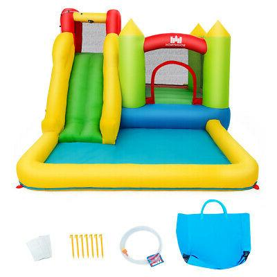 baby play inflatable bounce house water slide