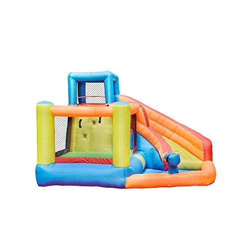 Doctor Bounce Slide House Jumper Slide Park Kids Outdoor Air