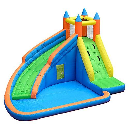 inflatable bounce slide water park