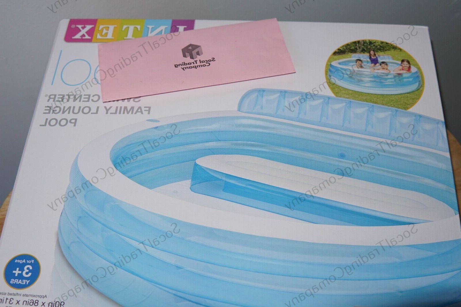 Intex Inflatable Lounge Pool Swim Center DAY✅
