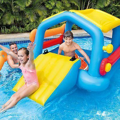 Intex Float Water Slide Tube Play Center