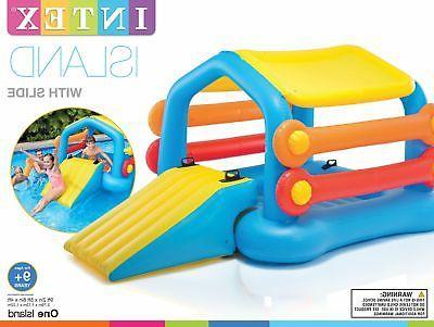 Intex Float Hut Slide Floats Play Center