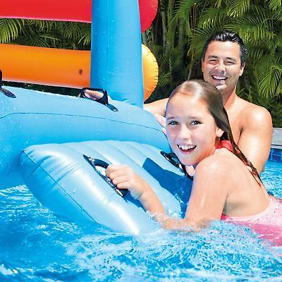 Intex Inflatable Pool Float Water Slide Floats Center