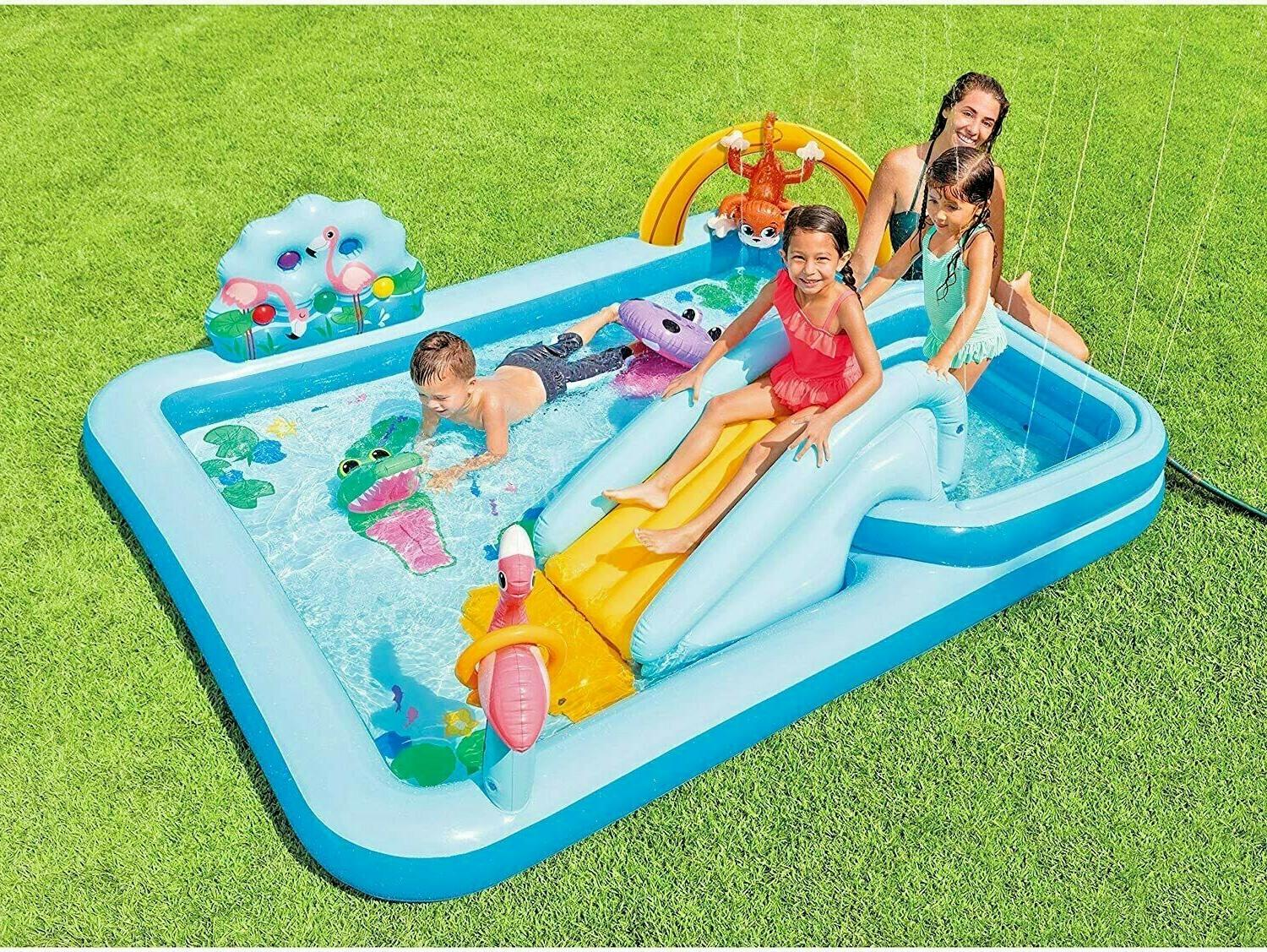 inflatable jungle adventure play center kids toys