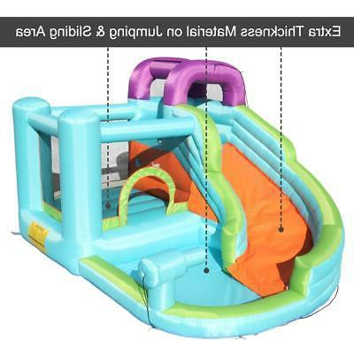 Inflatable Bouncy House Castle Play House Room Safe