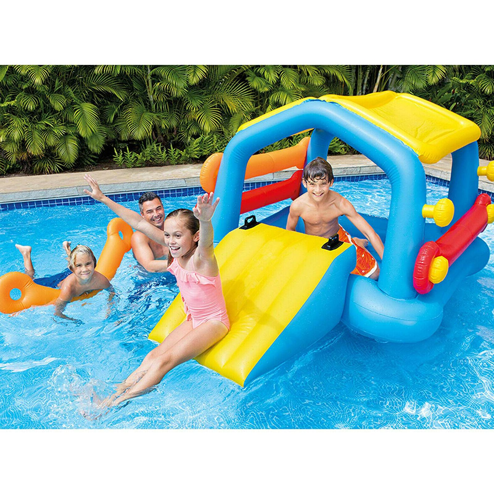 Inflatable Pool Cabin Island Child Toy
