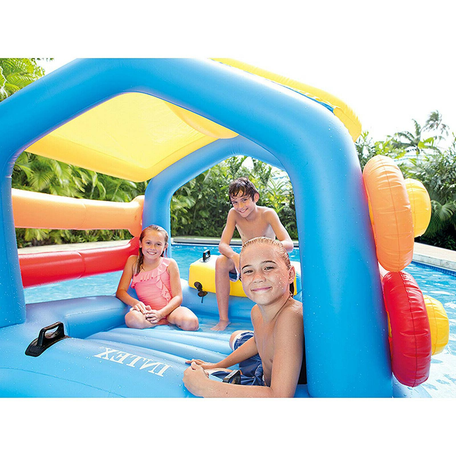 Inflatable Cabin Island Play Child Water