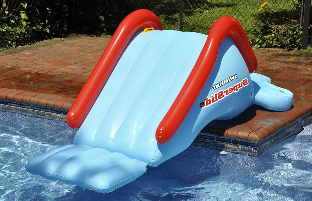 Inflatable Slide Toy for Pool Summer Outdoor Fun