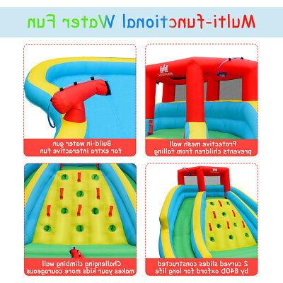 Inflatable Mighty Bouncy Splash Wall Two &