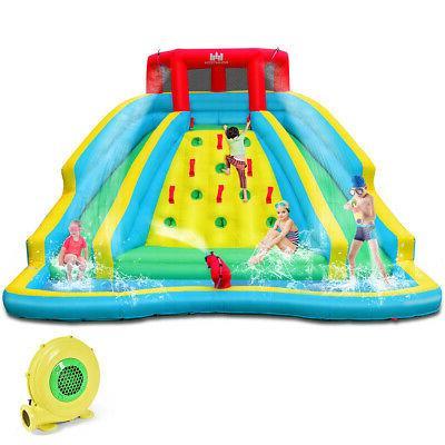 inflatable mighty water park bouncy splash pool