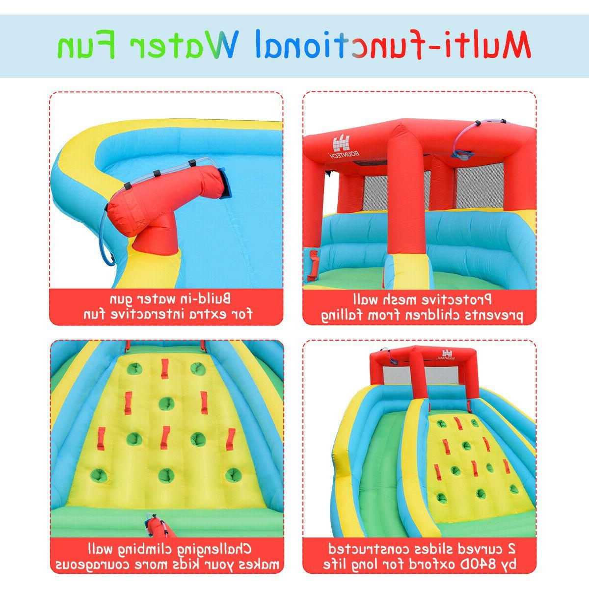Inflatable Water Park Climbing