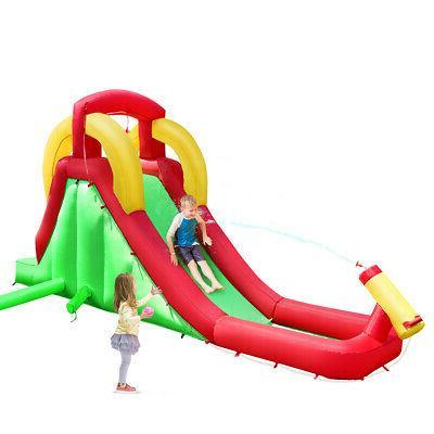 inflatable moonwalk water slide bounce house bouncer