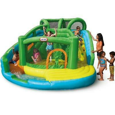 Little Tikes 2-in-1 Wet n Dry Waterslide and Bouncer Inflata