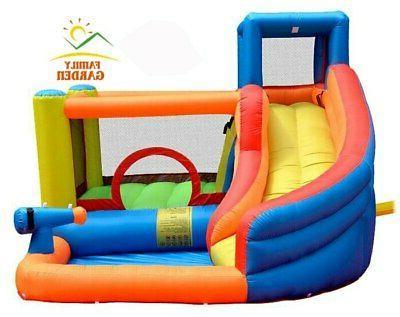 Inflatable Outdoor Slide Castle