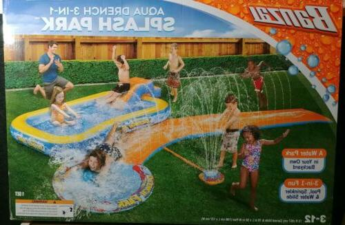 inflatable pool play center water
