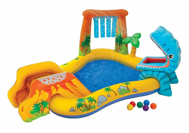 Play Rainbow Ring Slide Backyard