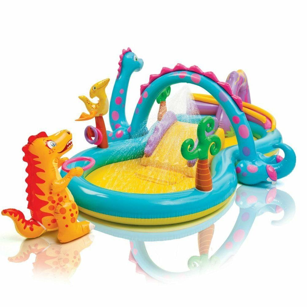 Intex Inflatable Play Ring Slide Games