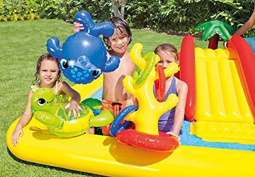 Intex Inflatable Play Rainbow Slide Kids 57453EPIntex Center Pool