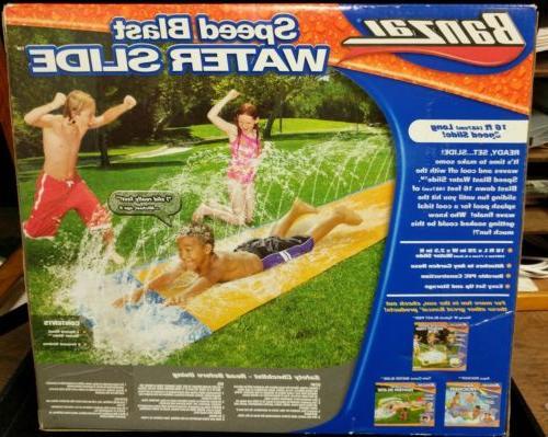 Inflatable Water Slide Springer Summer Kids Outdoor