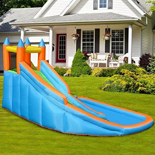 Costzon Inflatable Water Castle House