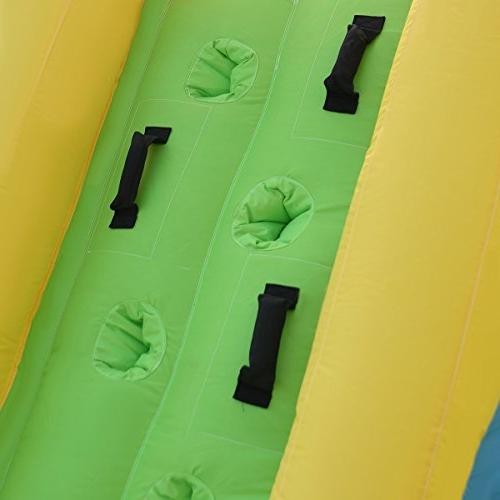 Costzon Inflatable Water Pool Castle Bounce