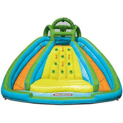Inflatable Slide Bouncer Duty Little Tikes Mountain River Race Water