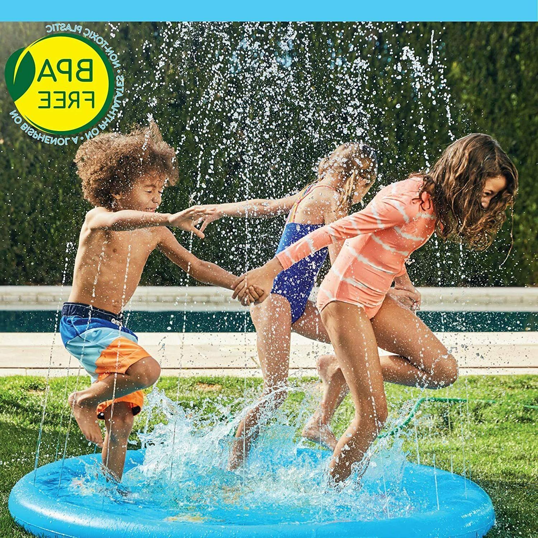 Inflatable Splash Pad Sprinkler for kiddie baby pool