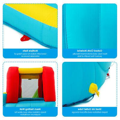 Inflatable Park Bounce House Slide Wall