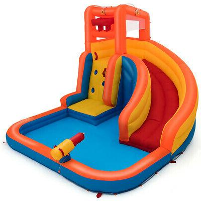 Inflatable Splash Slide Bounce Climbing & Hose