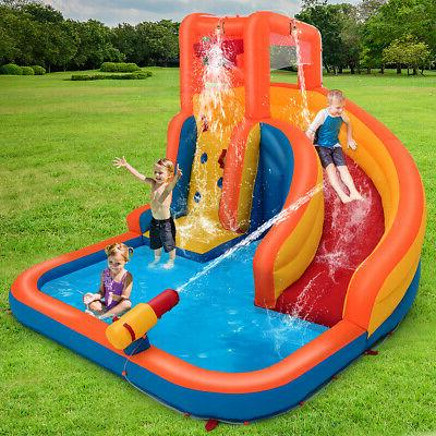 Inflatable Slide Climbing