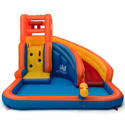 Slide House w/ Climbing & Water Hose
