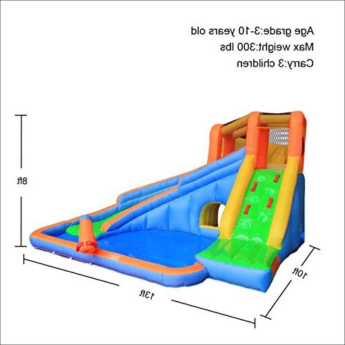 Inflatable Water Slide Bouncy for Backyard with