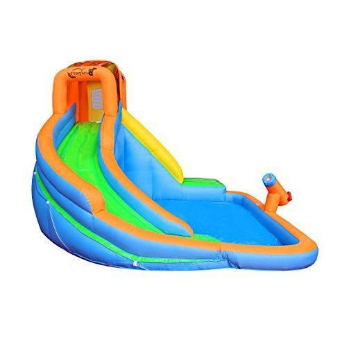 Inflatable Water Pool Bouncy for Backyard Blower