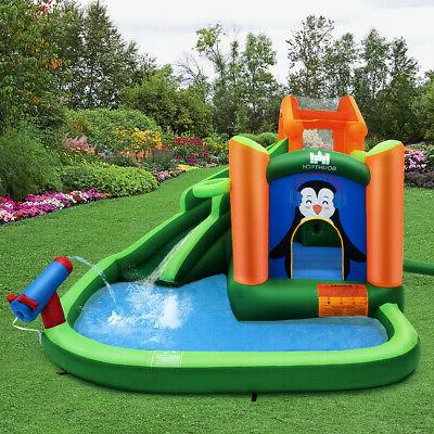 Inflatable Water Park Bouncer Splash