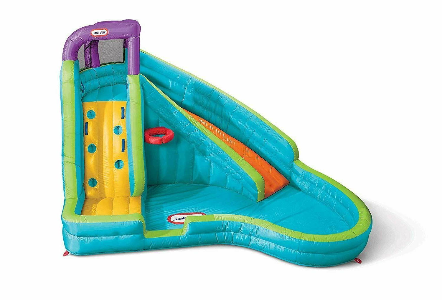 Inflatable Park Kids Slide Big Center Splash Blower