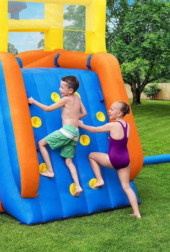 Inflatable Play Splash Pool With Water Cannons