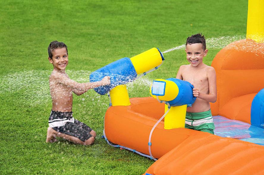 Inflatable Play Splash Water Cannons Summer