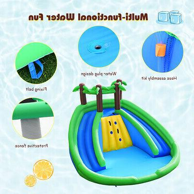 Inflatable Water Pool Climbing Without