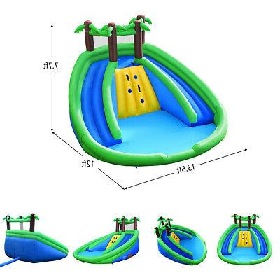 Inflatable Water Park Bounce House Dual Climbing
