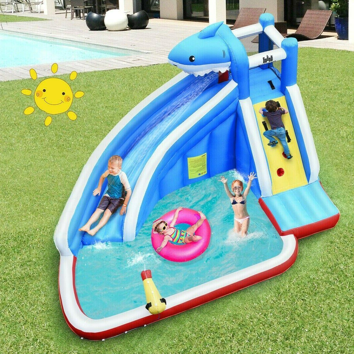 Inflatable Bounce House Outdoor Party Blower