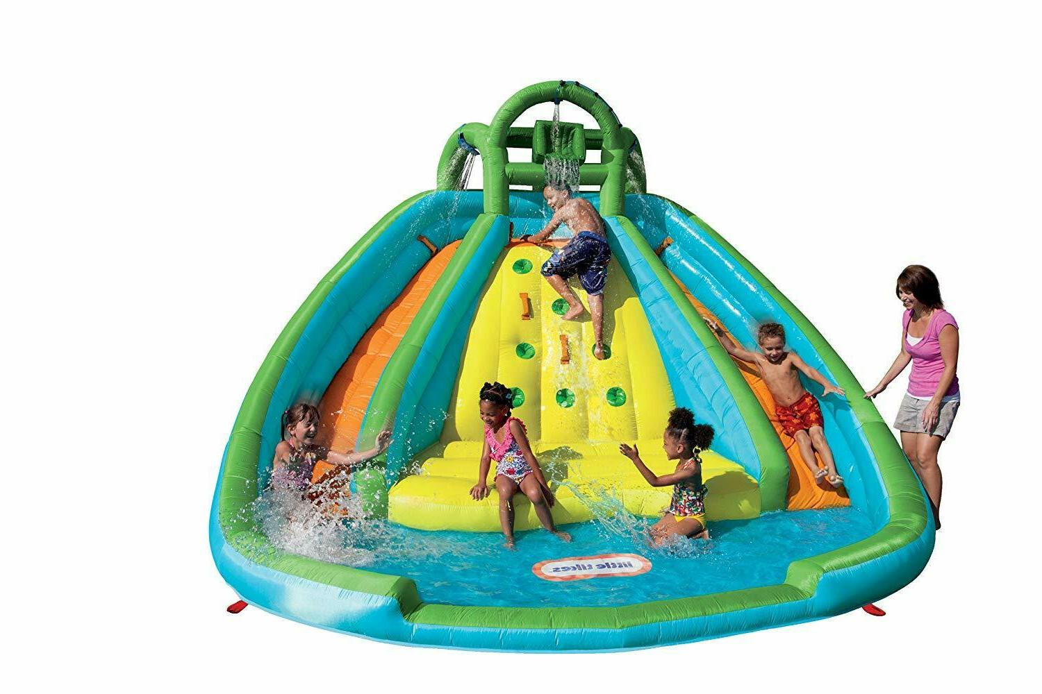 Inflatable Bouncer Backyard Water Park Fun Play Kids Water S
